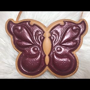 Louis Vuitton Vernis Butterfly Bag Amarant LV